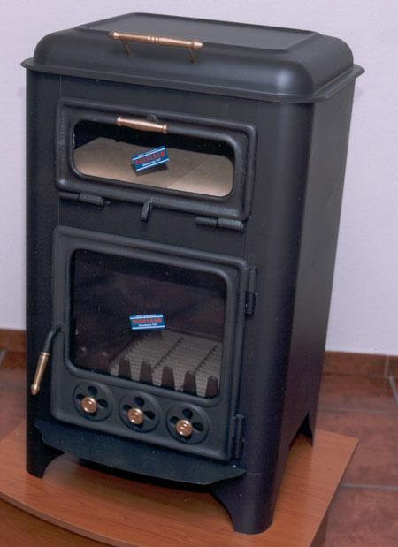 Corbalan estufa arpia v 10 dpt horno for Estufa hierro fundido