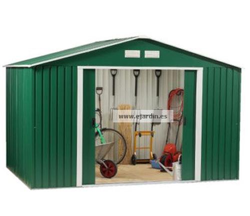Duramax caseta met lica jard n titan 8 6 for Casetas de jardin metalicas brico depot