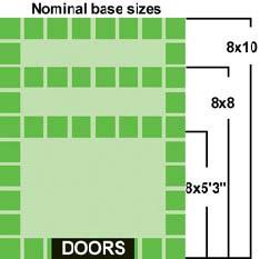 Duramax caseta jardin pvc duramate 8 6 for Cobertizo de jardin de techo plano de pvc