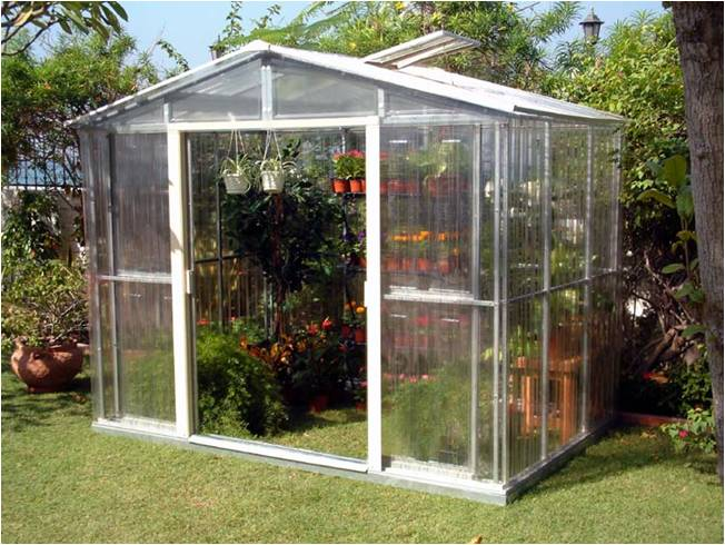 Duramax invernadero jardin greenhouse 10 x 8 - Invernaderos de terraza ...