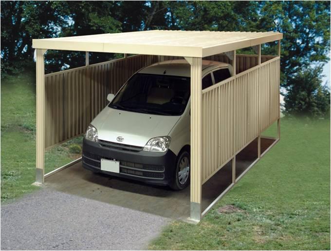 Duramax marquesina garaje de pvc 12 8 for Cubiertas para garajes