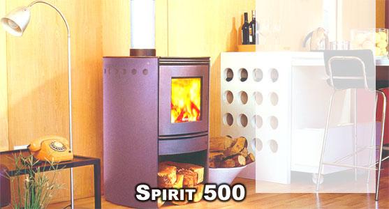Hergom Spirit 500 Estufa Le A Doble Combustion Bosca