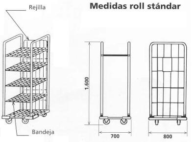 NOVODINÁMICA TRASERA 9302 PARA ROLL 9300