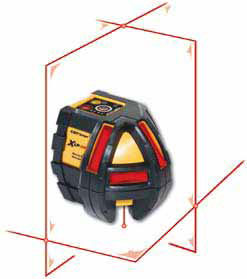 Cst berger xlp34pkg nivel l ser de l nea autonivelante for Nivel laser autonivelante