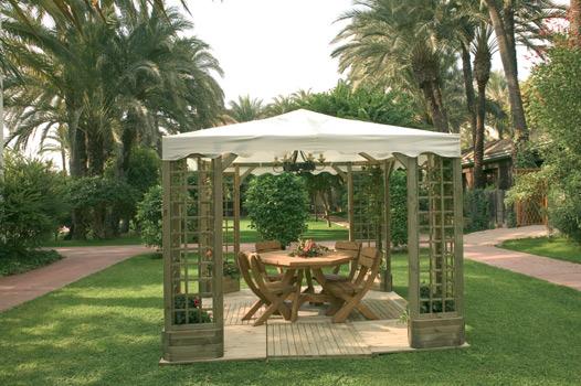 Catral cenador de lujo de madera para jard n 83300 - Cenador para jardin ...