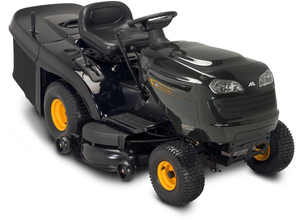 Mcculloch m155107hrb tractor cortacesped gasolina motor - Cortacesped a gasolina ...