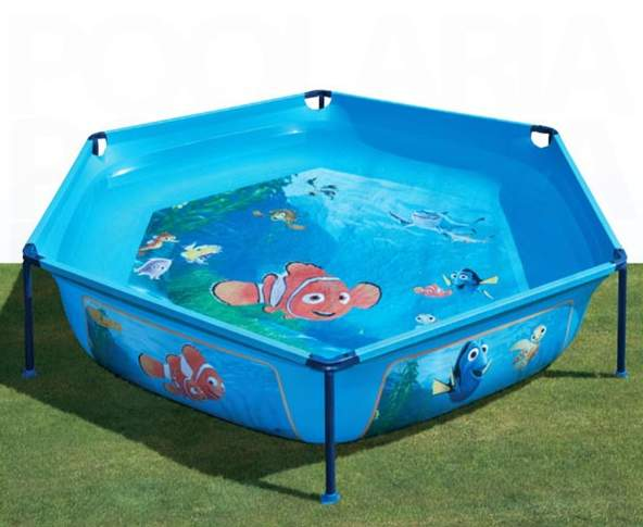 Gre wet 230 nemo piscina para ni os desmontable en kit for Protector de piscinas para ninos