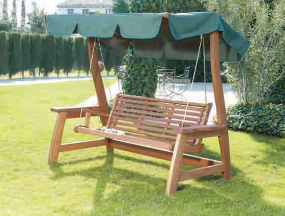 tryun smg2501 ty 0312 balancin de madera jardin 3 plazas