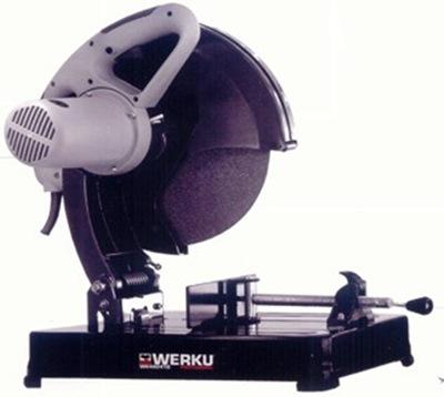Sierra - Sierra de cinta para metal:  problemas con las cintas, se rompen mucho Werku-WK400410-Tronzadora-para-metal-Sierra-de-corte-hierro-350-mm-WK400410