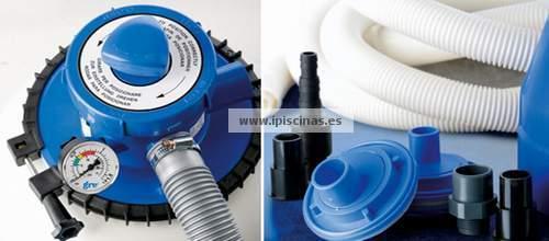 Gre depuradora con filtro de arena piscina ar1300 for Depuradora piscina arena