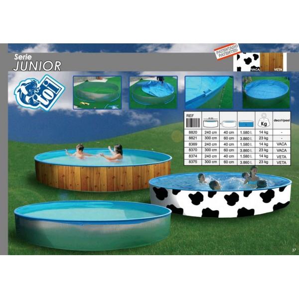 Toi 8375 piscina para ni os sobre suelo junior - Piscina para perros rigida ...