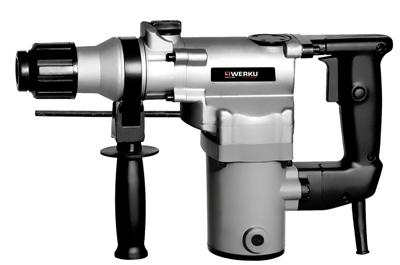 Werku wk401980 taladro martillo demoledor electrico 600w - Martillo cincelador electrico ...