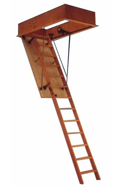 C es tchm 120 60 escalera de techo 120 x 60 3 tramos - Escaleras de techo ...