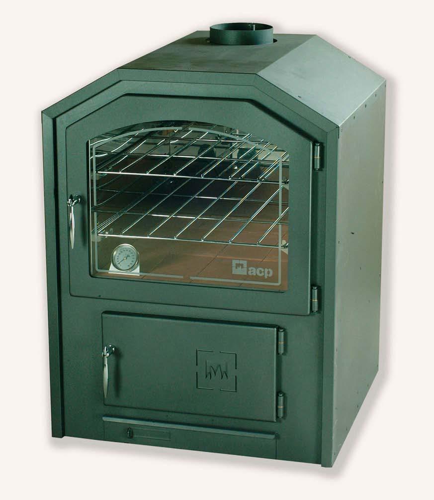 Extractor De Baño Bateria:ACP Horno de leña 60