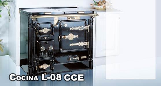 Hergom cocina calefactora cerrada bilbaina l 08 cce for Cocina bilbaina hergom