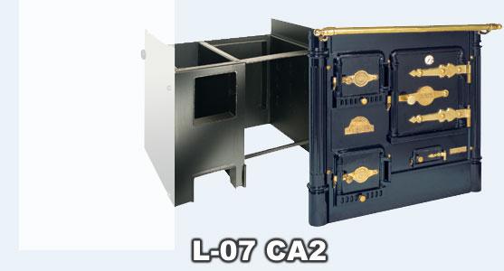 Hergom l 07 ca 2 cocina calefactora de obra bilbaina - Cocinas bilbainas calefactoras ...