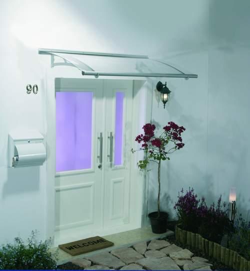 Plant it marquesina tejado cubrepuertas de entrada - Tejadillos sobre puertas ...