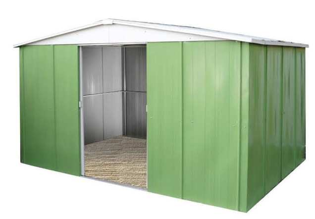 Jasmine 331 caseta met lica de jard n 10 47 m2 for Caseta metalica jardin