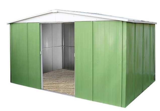 Jasmine 331 caseta met lica de jard n 10 47 m2 for Caseta metalica carrefour
