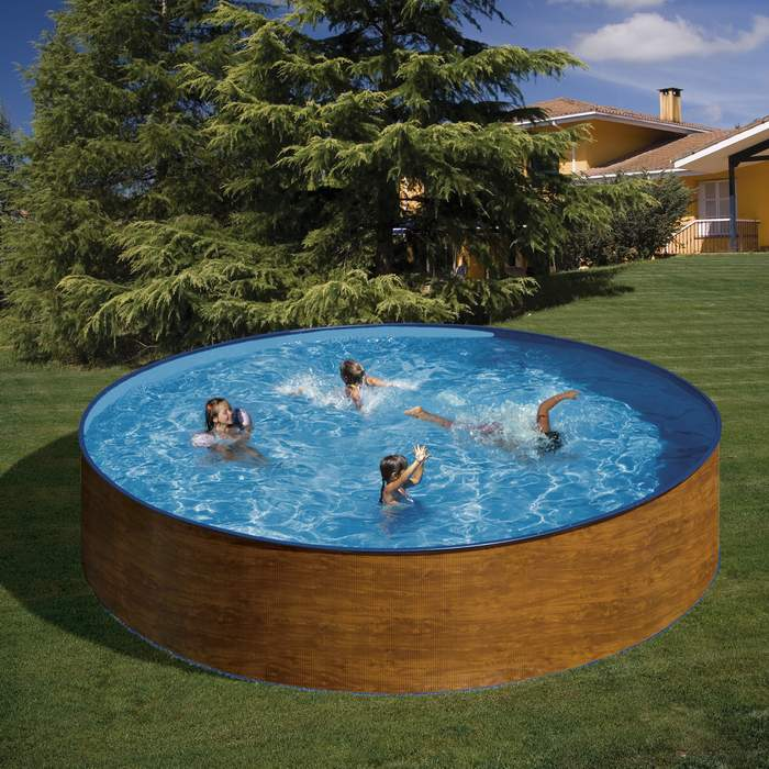 Gre menorca kitwpr45w piscina redonda elevada - Piscina elevada ...