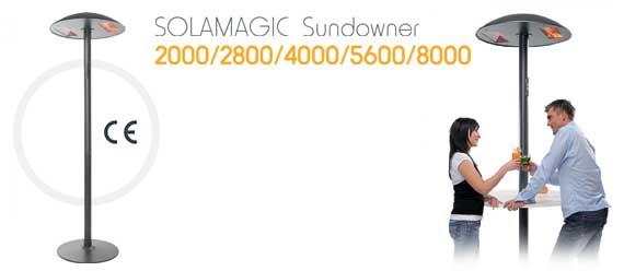 Solamagic sundowner 8000 4 x 2000 w estufa seta para - Estufas exteriores para terrazas ...