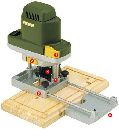 Proxxon mini fresadora mof 28568 - Fresadora de madera ...