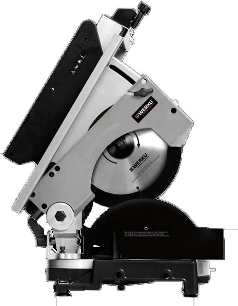 Werku WK 402640 Mesa ingletadora 210 mm 1200 W