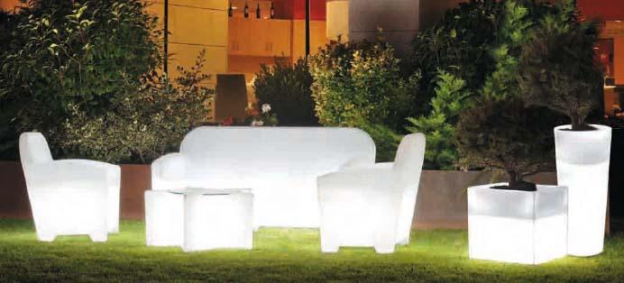 Ab flowers kit de luz conjunto muebles exterior con luz for Conjunto muebles exterior