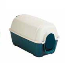 Copele caseta perro peque a plastico 70921 for Caseta perro pvc