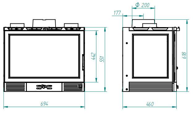 Ferlux-Cassette-Plano-Abierto-735-Abierto-1-Lateral-plano