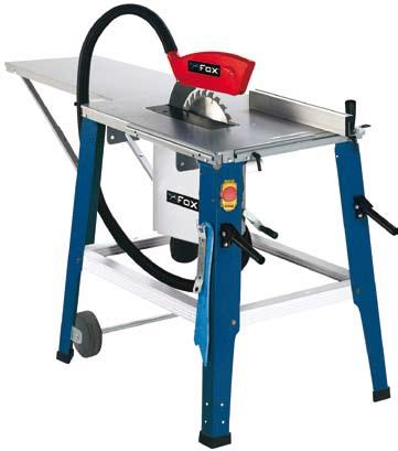 Fox f36 528 sierra de mesa de construcci n 315 mm for Sierra de mesa milanuncios