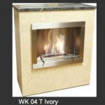 Wohnrausch WK-04 T Ivory Chimenea de Bioetanol (WK04T)