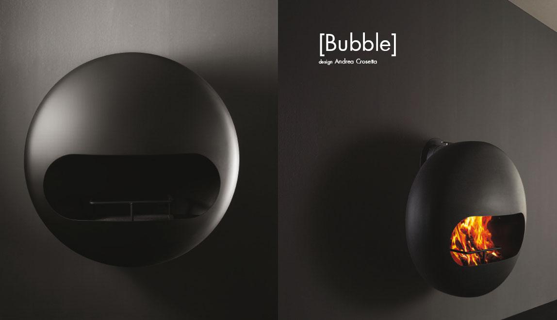 cheap antrax bubble de pared chimenea de lea de diseo bpnr with chimeneas diseo lea - Chimeneas Diseo