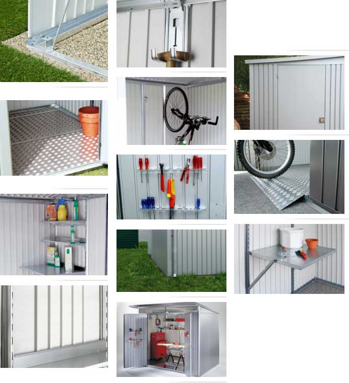 biohort avantgarde xl caseta cobertizo jardin 260 300. Black Bedroom Furniture Sets. Home Design Ideas