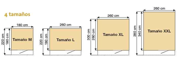 Medidas estandar de puertas de garaje materiales de for Puertas de aluminio medidas estandar