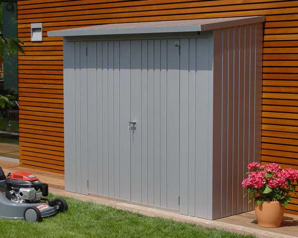 Biohort woodstock 230 cobertizo le ero armario jardin for Armario jardin
