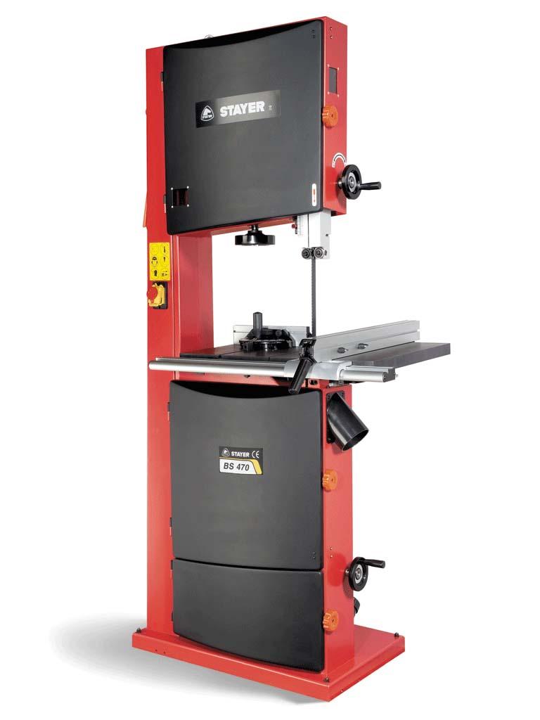 Stayer bs 470 sierra cinta vertical madera - Sierra de cinta para metal ...