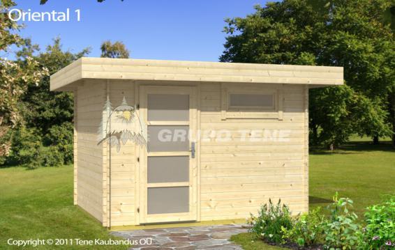 Grupo tene oriental 1 caseta de madera para jard n techo - Casetas de madera de jardin ...