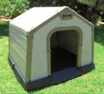 Keter caseta perro resina economica 2006641 94x97x83 - Casetas de resina ...