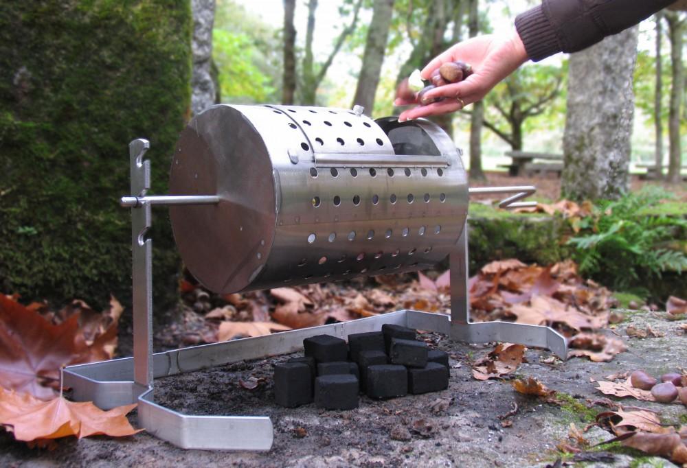 Como Construir Parrillas  -http://www.bricolandia.es/wp-content/uploads/2013/02/baluja-asador-de-castanas-Castanero1.jpg