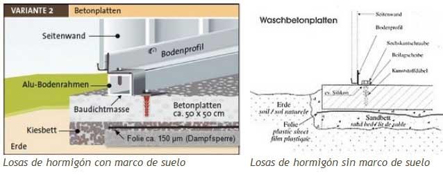 Biohort caseta met lica jardin highline h4 - Como hacer una solera de hormigon ...