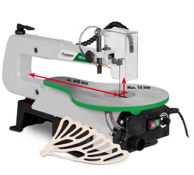 Holzstar sierra de marqueter a dks 502 vario for Sierra de cortar