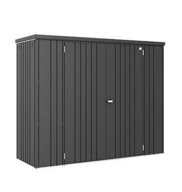 Biohort armario de jardin 230 metalico 227 83 for Armario metalico exterior