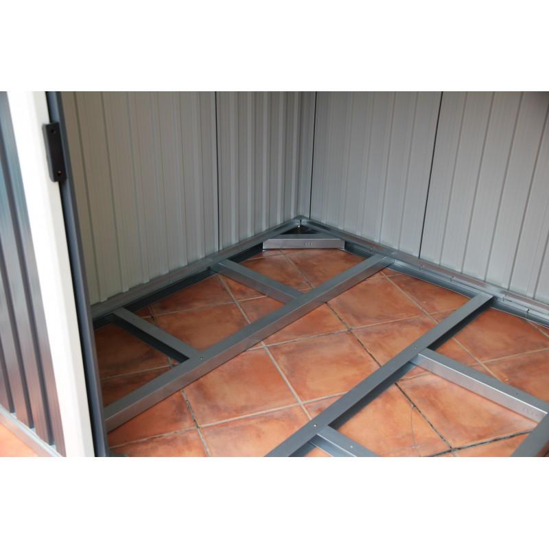 Kit de suelo para casetas de jardin duramax for Casetas de metal para jardin