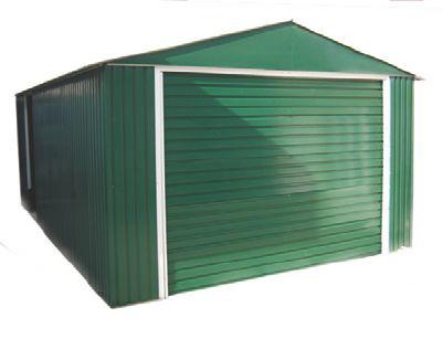 Duramax lyon ii garaje de metal para vehiculos 20x12 for Garajes metalicos en bolivia
