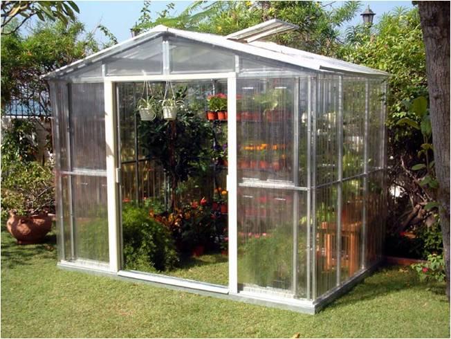 Duramax invernadero jardin greenhouse 10 x 8 for Construccion de viveros e invernaderos