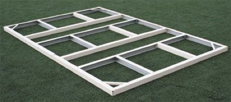 Kit de suelo para casetas de jardin duramax for Casetas metalicas jardin