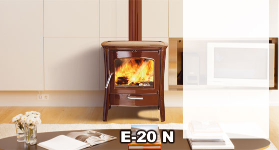 Hergom estufa le a e20n hierro fundido for Estufas de lena hergom