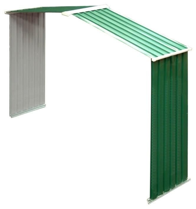 Duramax colossus cobertizo metalico jard n 10 10 9 70 m2 for Casetas de metal para jardin