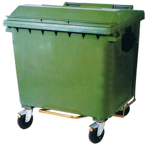 Novodin mica pedal cubo basura 800 1000 l 9826 - Cubos de basura industriales ...